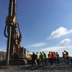 Ministrul Transporturilor, în inspecţie pe şantierul autostrăzii Lugoj-Deva