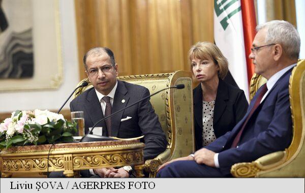 """Grindeanu:""""România este interesată în dezvoltarea cooperării în plan economic cu Irak"""""""