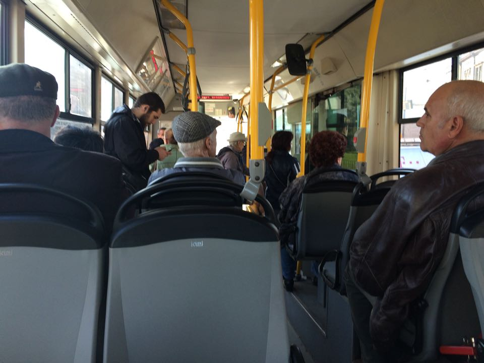 Traseul autobuzelor de pe Linia 40, modificat de R.A.T.T