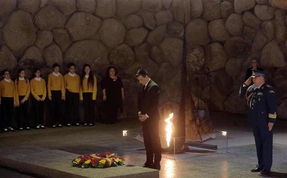 Premierul României, vizită oficială în Israel