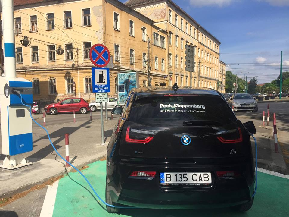 Unde se vor afla noile staţii pentru încărcarea maşinilor electrice din Timişoara
