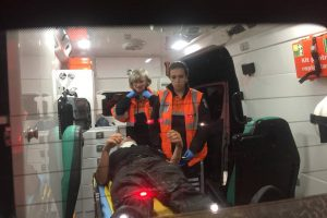 Autoturism rupt în două în urma unui accident produs la câțiva kilometri de Lugoj