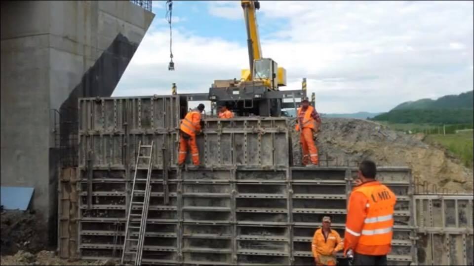 Stadiul lucrărilor la A1 Lugoj-Deva