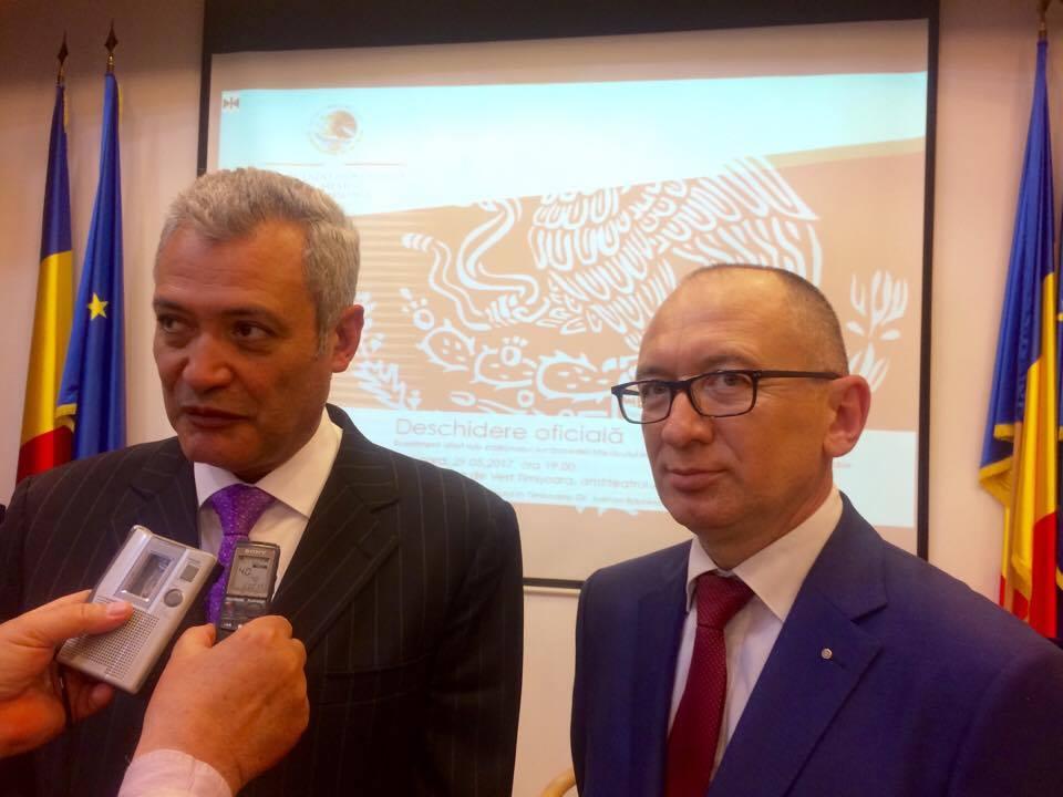 S-a deschis Consulatul Mexicului la Timișoara. Doctorul Adrian Bădescu, ales Consul onorific