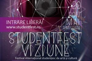 O nouă ediţie StudentFest va avea loc la Timişoara. Iată programul!