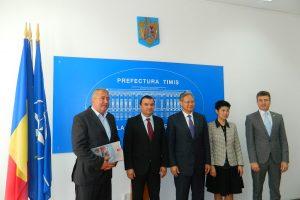 Ambasadorul Chinei, vizită oficială în orașul de pe Bega. Se dorește o colaborare economică