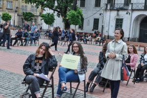 Cel mai inedit spectacol urban de lectură, în orașul de pe Bega
