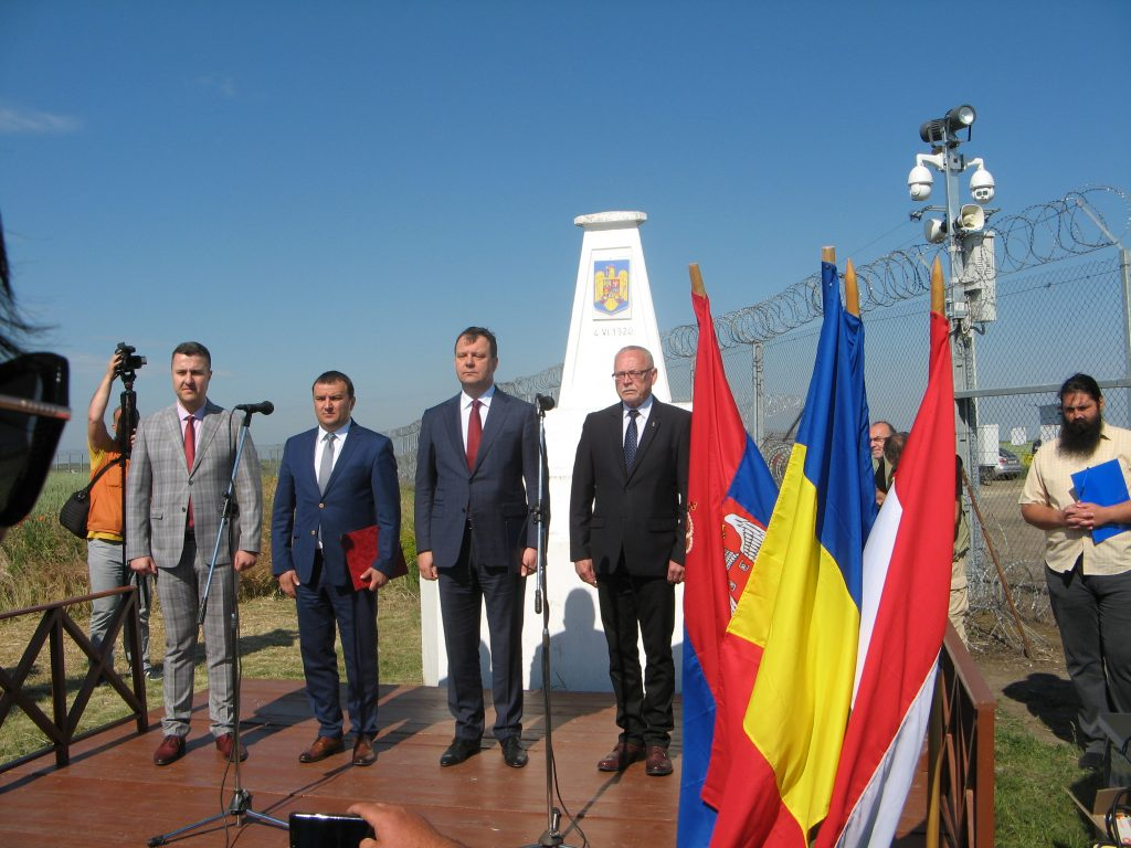 Deschiderea frontierei Triplex Confinium. Voivodina a preluat președinția euroregiunii DKMT