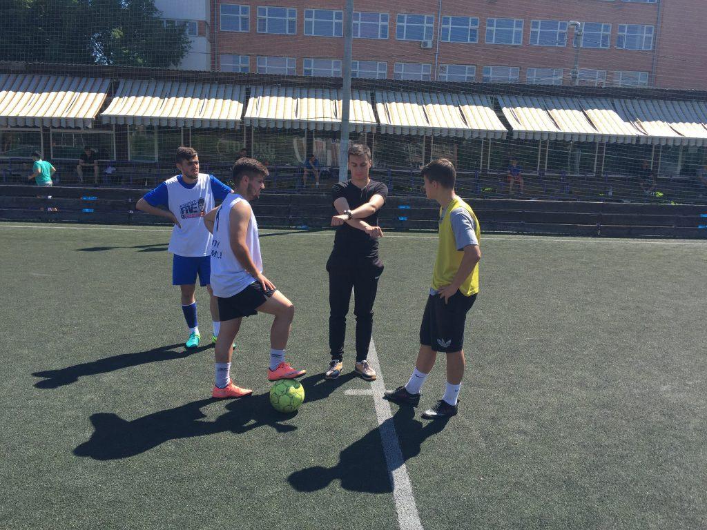 Studenţii din Timişoara şi-au disputat Cupa CSL la fotbal