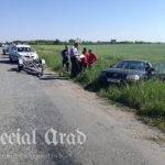 Accident în județul Arad. O femeie și un copil au fost răniți