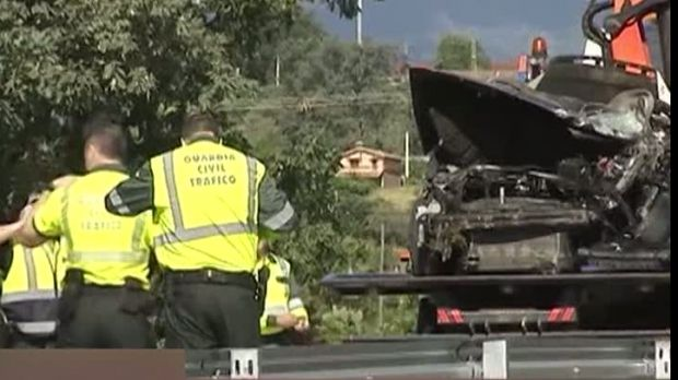 Un român a provocat un grav accident în Spania