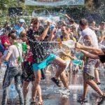 Bătaie cu apă și concerte la Ziua Studenţilor Timişoarei