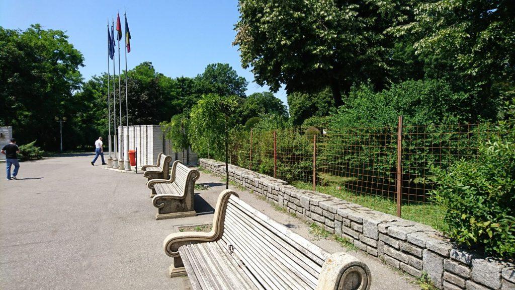Parcul Central, reamenajat în stil vienez