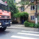 Explozie într-un bloc de garsoniere din Arad