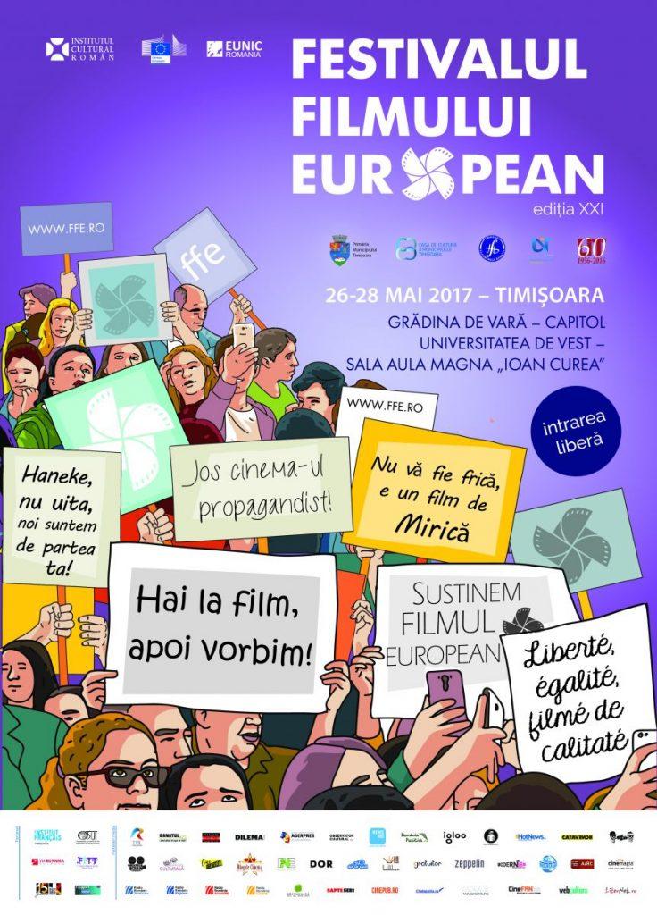 Ce producții pot vedea timișorenii la Festivalul Filmului European