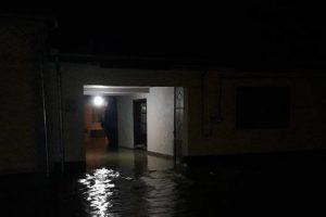 Optzeci de gospodării au fost inundate în comuna Glimboca