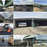 Constructorii de autostrăzi, filați cu dronele