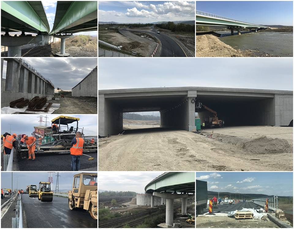 Ce lucrări s-au făcut pe autostrada Lugoj-Deva luna trecută