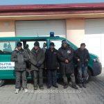 Șapte migranți din Irak și Siria opriți de polițiștii de frontieră la granița cu Serbia