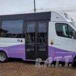 Se așteaptă livrarea ultimelor șapte minibuze destinate transportului public