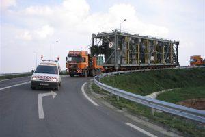 Transport agabaritic pe ruta Timișoara – DN59 – Moravița P.T.F.