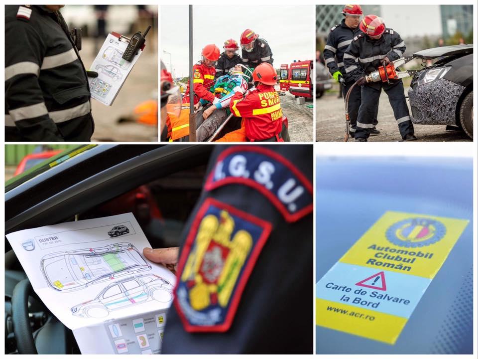 ISU: Prezența Cărții de Salvare la bordul autoturismelor poate contribui substanţial la reducerea timpului de descarcerare și salvare a vieții