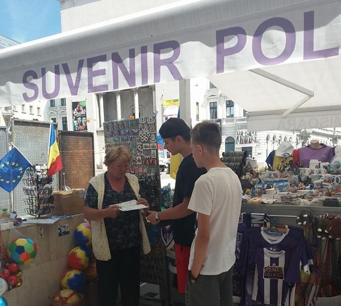 Biletele pentru meciul Poli – UTA se găsesc și în Piața Victoriei