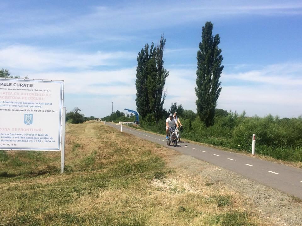 """Titu Bojin: """"O să intensificăm controalele pe pista de cicloturism și mărim amenzile"""""""