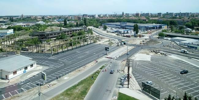 Noua stradă care va lega Open Ville de Baader, finalizată