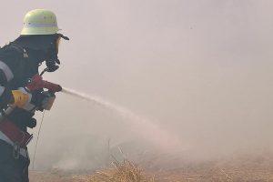 Patru ore și jumătate s-au chinuit pompierii să stingă un incendiu