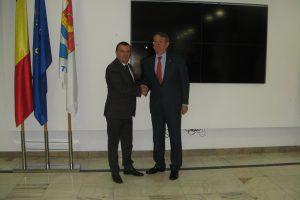 Ambasadorul Spaniei, în vizită la CJT
