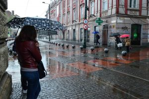 Ploi torențiale în vestul țării