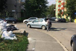 Cum au fost prinşi doi timişoreni care au aruncat deșeuri pe stradă