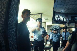 Primarul  Robu, descindere la Clădirea Modex din Timișoara