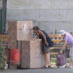 Fântânile publice din Lugoj au fost redeschise