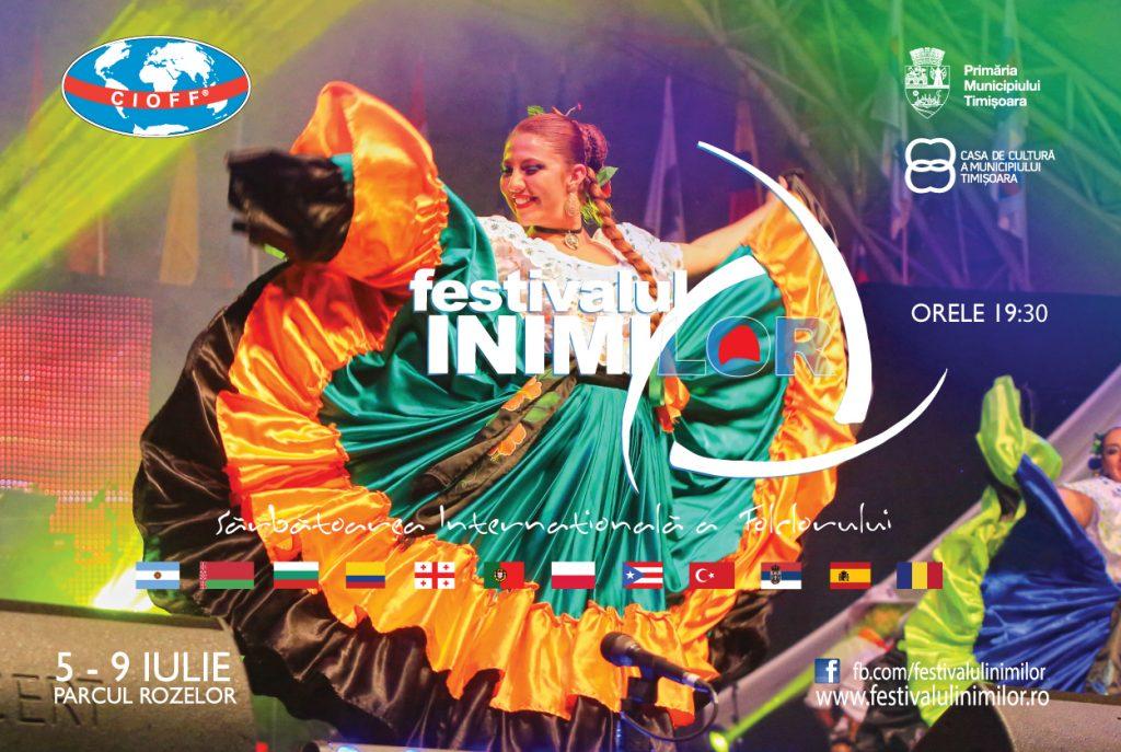 Azi începe Festivalul Inimilor, sărbătoarea folclorului mondial. Iată programul!