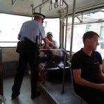 Polițiștii locali și cei de la Secția 1, razie în mijloacele de transport în comun din Timișoara