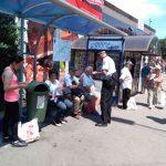 Continuă campania de prevenire a furturilor din buzunare în mijloacele de transport în comun