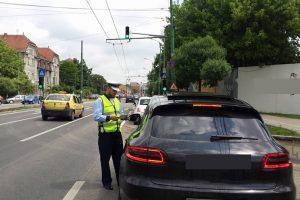Poliţiştii de la Rutieră au dat 600 de amenzi în ultimele 4 zile