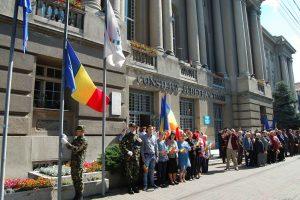 Ziua Drapelului Național sărbătorită la Timișoara