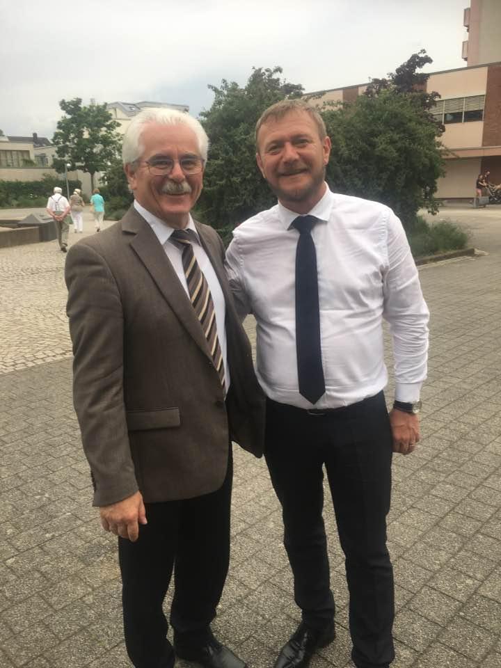 """Primarul Cristian David: """"Comuna Biled a fost primită, în mod oficial, la Primăria din Karsluhe"""""""