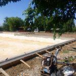 Stadiul lucrărilor la ștrandul termal din comuna Lovrin