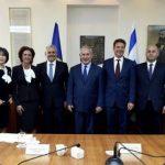 Deputatul Marian Cucșa s-a întâlnit la Ierusalim cu Benjamin Netanyahu, prim-ministrul Israelului