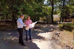 Stadiul lucrărilor de reabilitare a Parcului Scudier