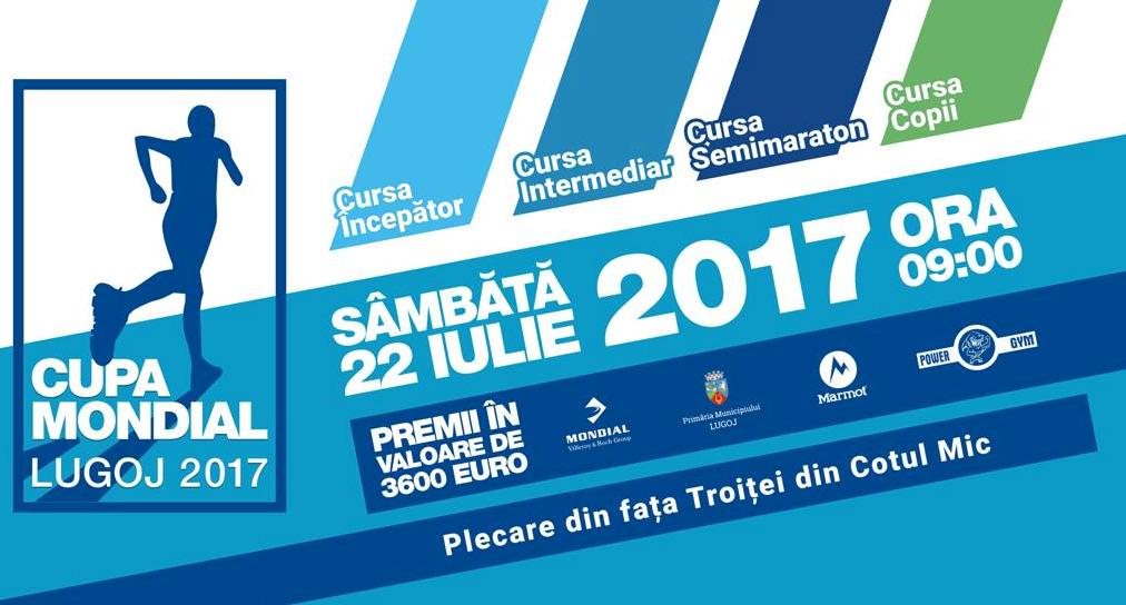 """Lugojenii, invitați la """"Cupa Mondial"""". Curse de alergări și PREMII de 3.600 de euro"""