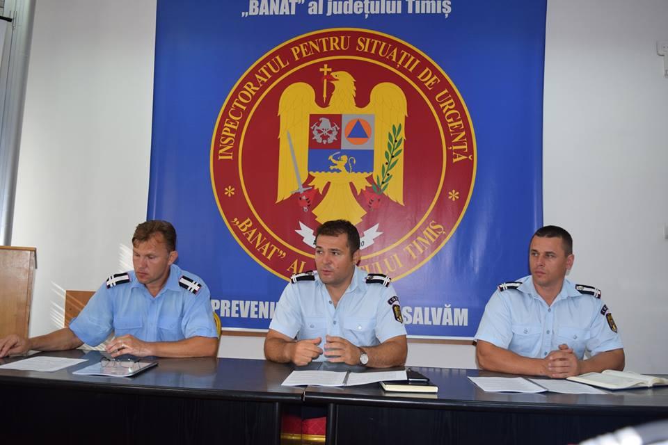 Un nou punct de lucru pentru ISU Banat: comuna Topolovățu Mare