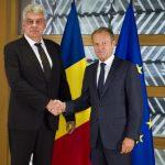 """Guvernul României """"lucrează într-un ritm intens"""" la pregătirea Preşedinţiei române a Consiliului UE"""