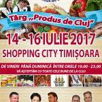 Concert cu Aurel Tămaș şi târg de bunătăţi, în weekend, la Shopping City Timișoara