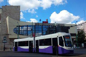 Tramvaiul va circula fără a face zgomot prea mare pe o nouă linie din Timișoara