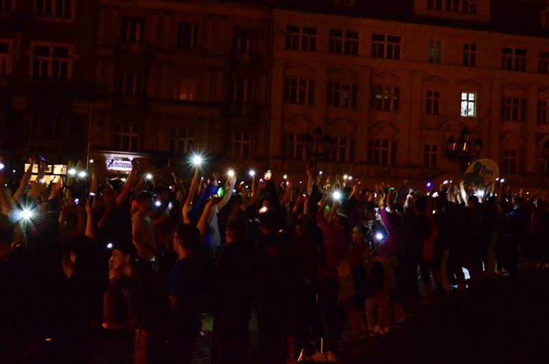 Alergare cu luminițe în centrul Timișoarei. Când va avea loc Tura Licuricilor